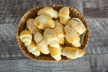 Homemade small bread like snacks