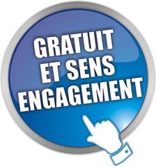 bouton gratuit et sens engagement