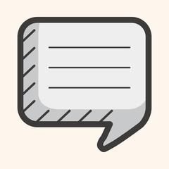 message icon theme elements
