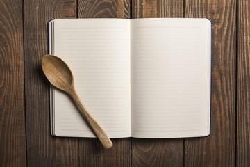 Card. Recipe book