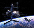 Spacecraft And Space Station - 80160818