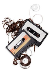 Tape. Audio cassette and tape composition