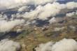 Постер, плакат: Veduta aerea: verso Londra tra le nuvole