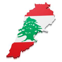 Map Lebanon