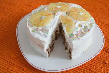 Homemade Sweet Pineapple Cake