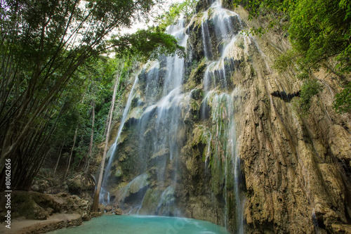 Foto op Aluminium Watervallen A beautiful waterfall in Cebu, Philippines.