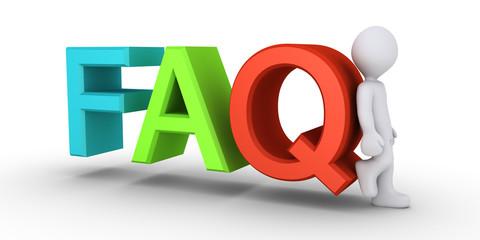 Providing the answers to FAQ