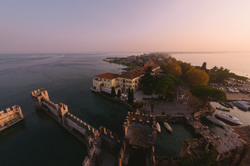 Sunset in Sirmione, Northern Italy