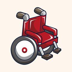 wheelchair theme elements