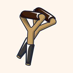 Crutch theme elements