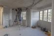 chantier travaux dans bâtiment