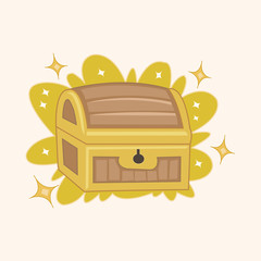 treasure theme elements