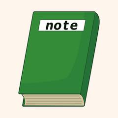 notebook theme elements