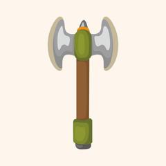 weapon axe theme elements