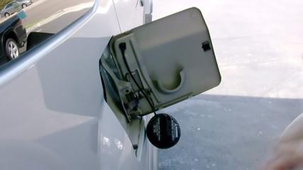 Pumping Gasoline Car