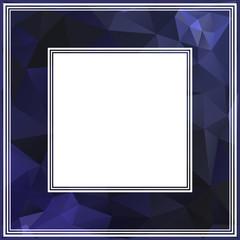 dark blue border