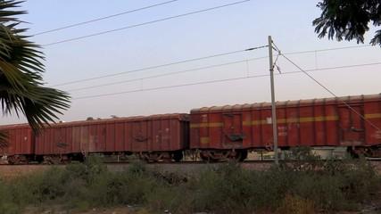 A Fast Goods Train