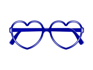 Sun glasses frame in shape of heart