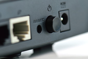 power button of router