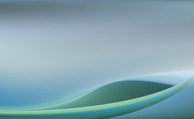 Pale blue sea background with soft folds