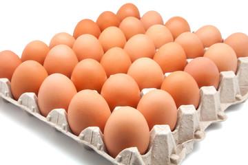 treinta huevos de gallina