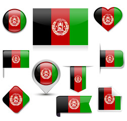Afghanistan Flag Collection