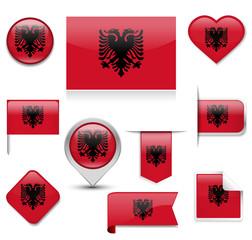 Albania Flag Collection