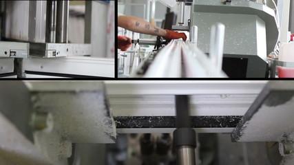production of plastic windows - multiscreen