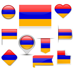 Armenia Flag Collection