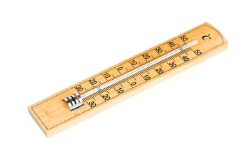 wooden termometer