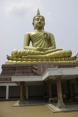Art and statues of Buddha in Buddhism.
