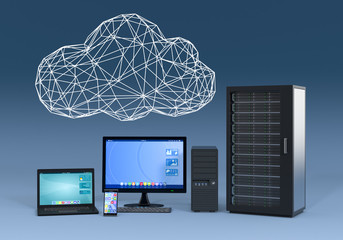 concept of cloud computing