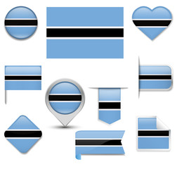 Botswana Flag Collection