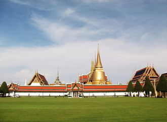 temple of emerald Buddha in Thailand