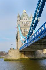 Tower Bridge in Portrait aspect