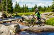 Zdjęcia na płótnie, fototapety, obrazy : Healthy lifestyle - teenage boy biking