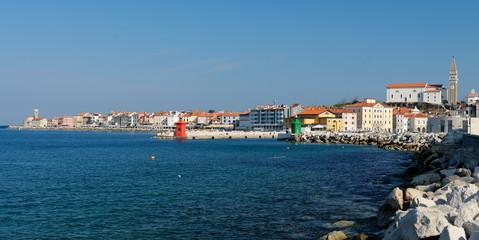 Picturesque old town Piran - Slovenian adriatic coast