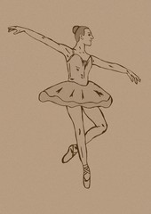 Ballerina vintage