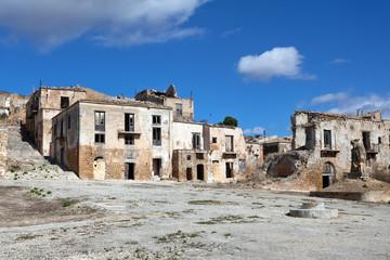 Poggioreale, ghost town in Sicily
