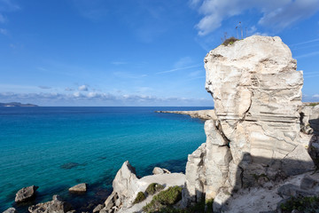 Favignana turquoise sea