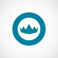 crown icon bold blue circle border