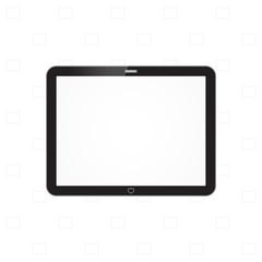 Tablet computer vector illustration
