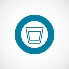 vodka icon bold blue circle border