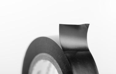 Black industrial tape