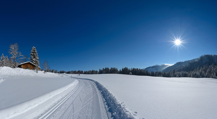Highres Winter Panorama links