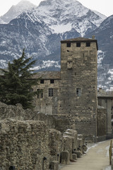 Castle in Northern Italy