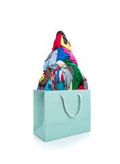 Bag full of clothes