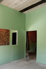 Reconstruction of house interior
