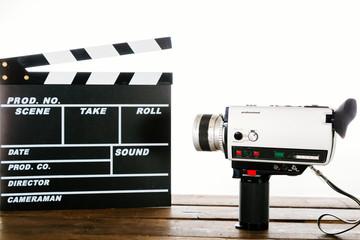 Vintage camera video
