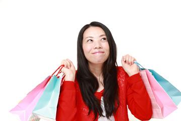 買物が大好きな女性